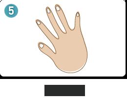 손톱 모양