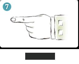 둘째손가락